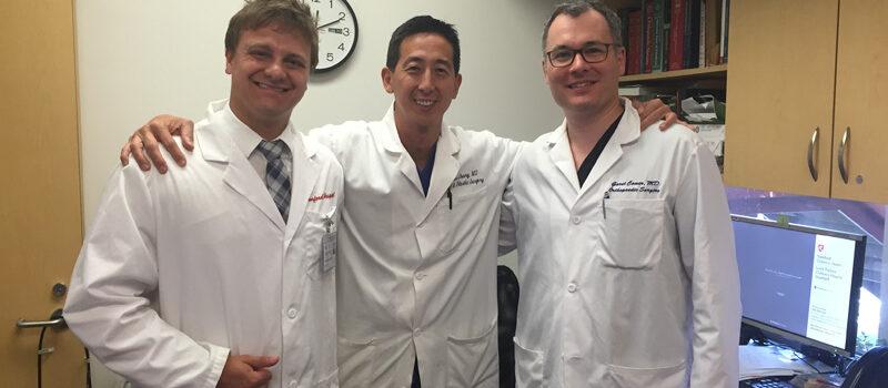 Professor James Chang especialista em cirurgia da mão